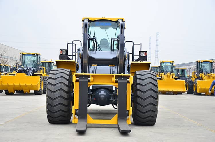 XCMG factory 20 ton stone forklift loader LW600KN-T25 price