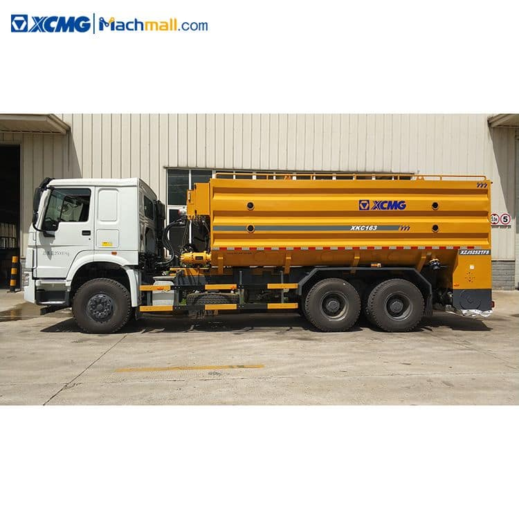 XCMG official powder binder spreader XKC163 6×4 with HOWO chassis price