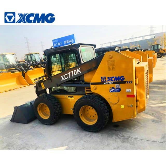 XCMG XC770K 1 ton Mini Skid Steers Loader For Snow Removal