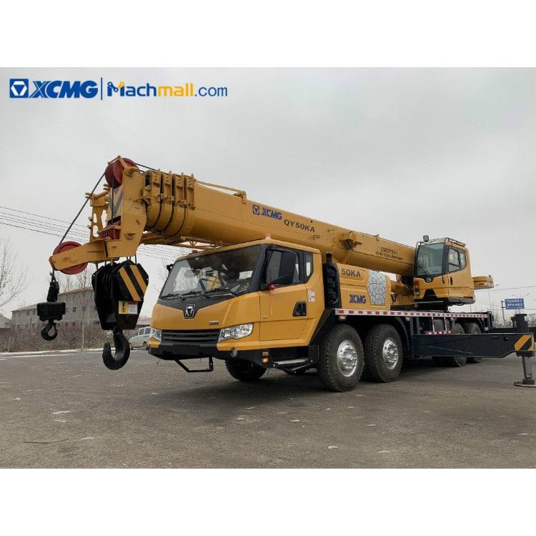 QY50KA crane price   XCMG QY50KA 50 ton crane for sale
