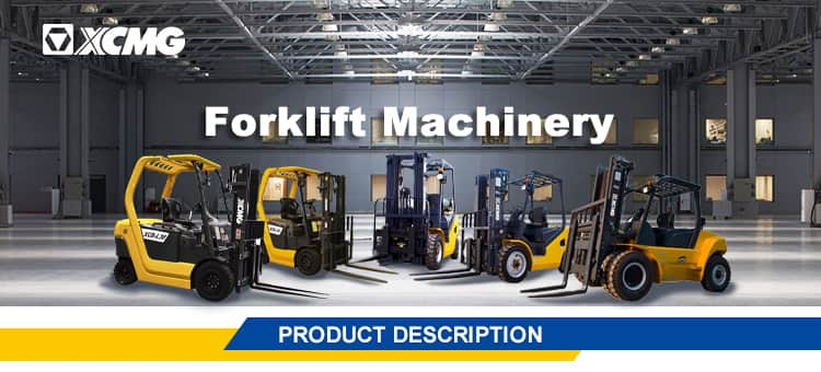 XCMG official 4*4 diesel forklift 2.5 ton 3 ton 3.5 ton with forklift part price