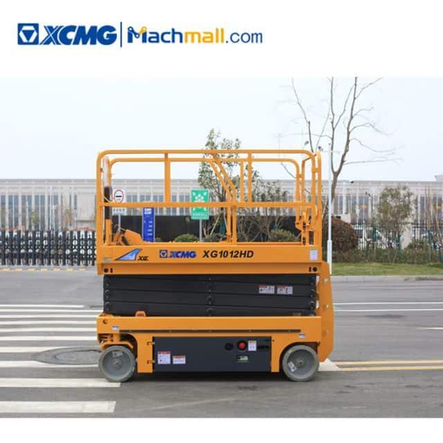 XCMG 10m XG1012HD hydraulic aerial work platform price