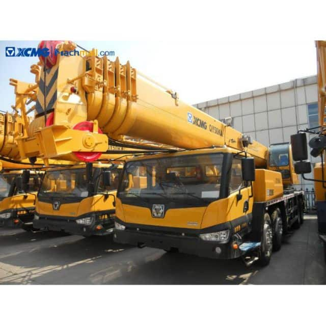 XCMG QY50KA truck crane 50 ton 58m with catalog PDF for sale