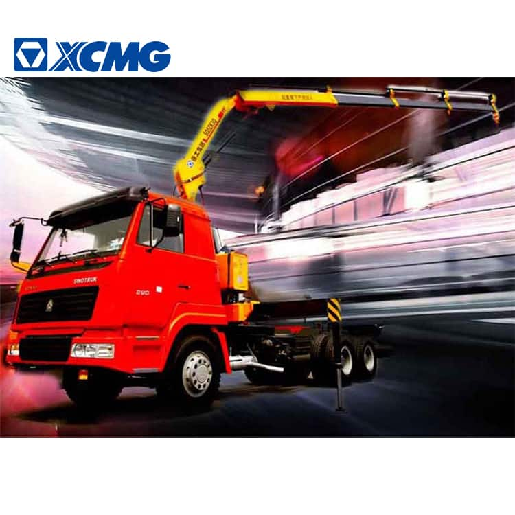 XCMG Manufacturer SQ10ZK3Q 10 Ton Hydraulic Folding Knuckle Boom Crane Mounted Truck
