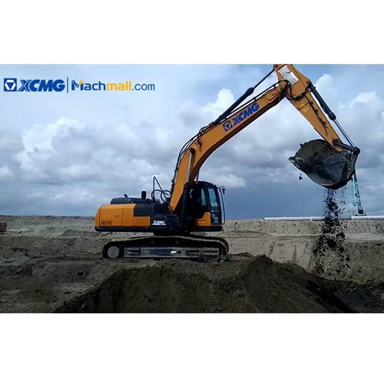 XE215C Excavator   XCMG 21 ton 1m3 Excavator XE215C with ISUZU Engine price