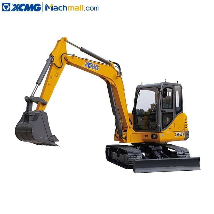 XCMG crawler excavator XE65DA 6.5 ton excavator price