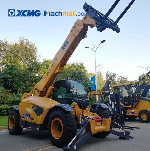XCMG 4.5 ton 17m telehandler XC6-4517K with multifunction attachment price