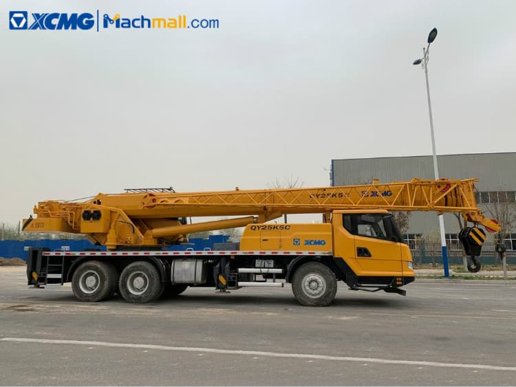 XCMG manufacturer 25 ton small mobile truck crane QY25K5C price