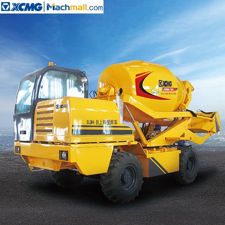 XCMG Official small concrete mixer machine 4 cubic meters SLM4 price in Singapore