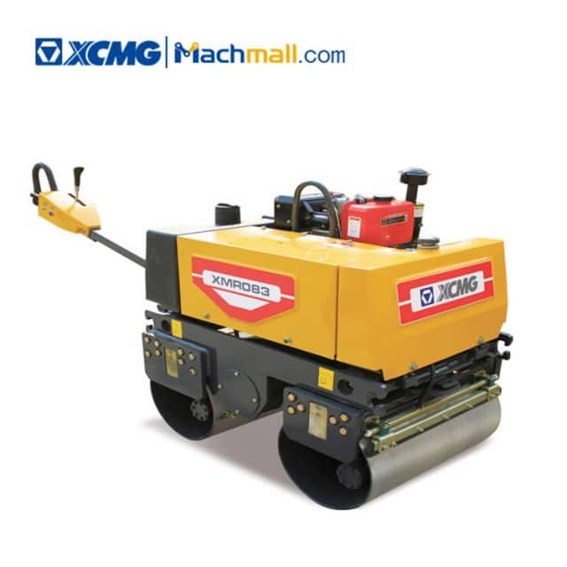 XCMG 1 ton mini light road roller XMR083 for sale