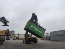 XCMG 31 ton Reach Stacker Container Crane XCS31W  For Sale