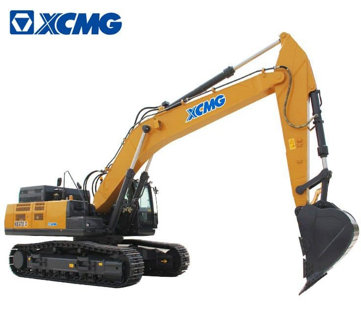 XCMG 50 ton Hydraulic Mining Excavator Machine XE470D for sale