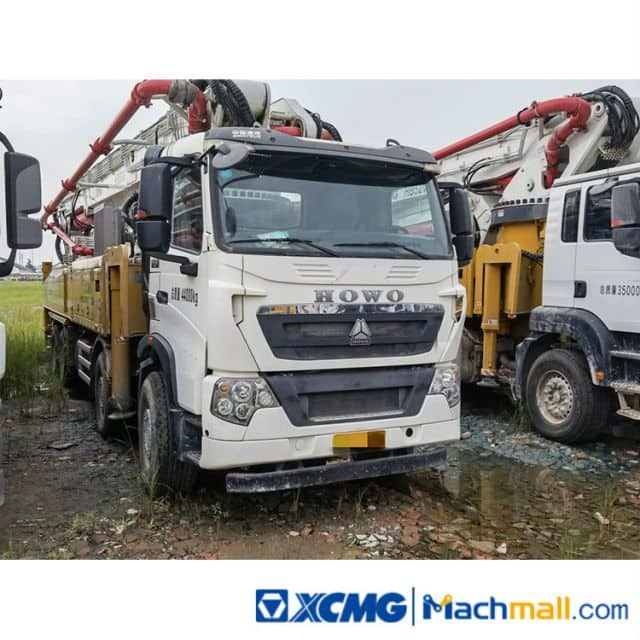 China XCMG Used Concrete Pump Truck HB58 For Sale