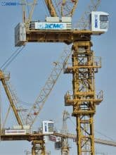 XCMG 16 ton luffing construction crane tower XL6025-20 price