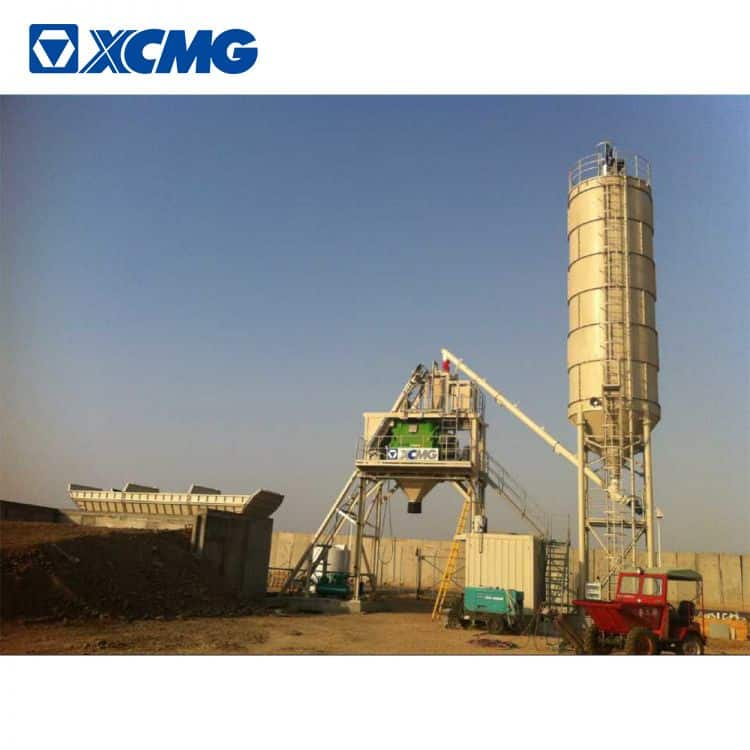 XCMG Manufacturer HZS60VY 60m3 Portable Mobile Concrete Batching Plant Price
