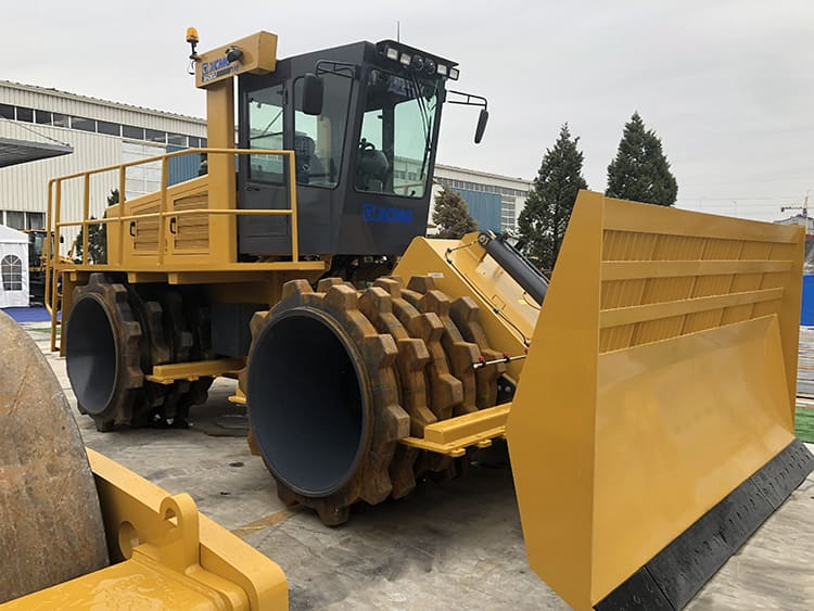 XCMG factory 30t XH283J landfill compactor price