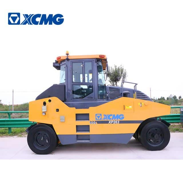 XCMG official 26 ton pneumatic tire road roller XP263