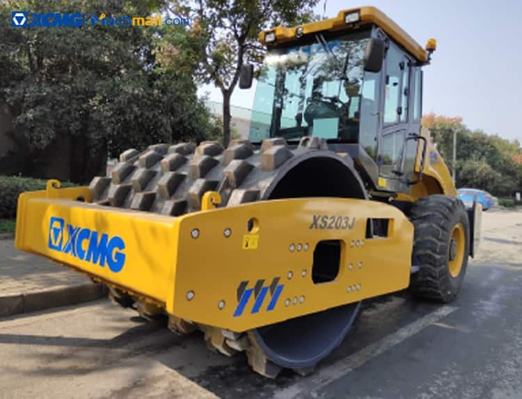 XCMG official 20 ton new road roller XS203J price