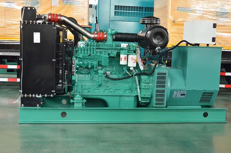 XCMG 125 kva 100kw small diesel Cummins silent genset JHK-100GF price