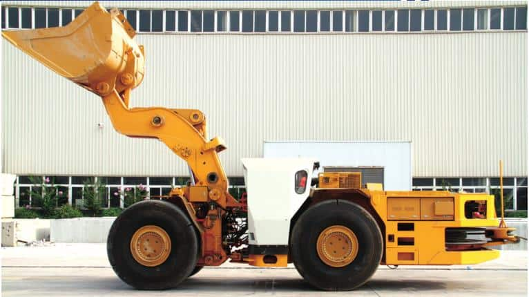 XCMG Official TC6D Underground mining loader Scraper for sale