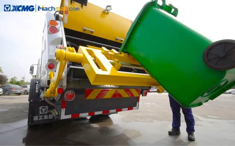 XCMG 6 m3 XGH5070ZYSQ6 Rear Loading Garbage Truck Price