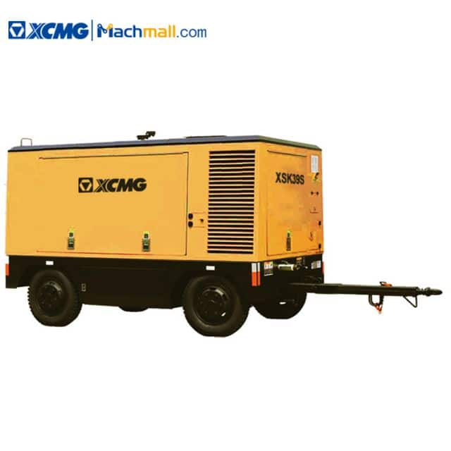 XCMG new air compressor XSK39S with CUMMINS engine for drilling rig price