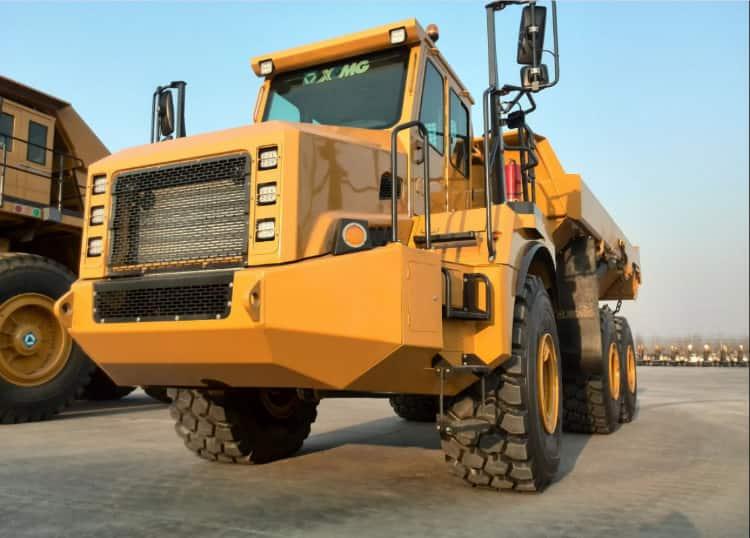 XCMG Official mining dump truck 6x6 40 ton  XDA40 articulated dump truck for sale