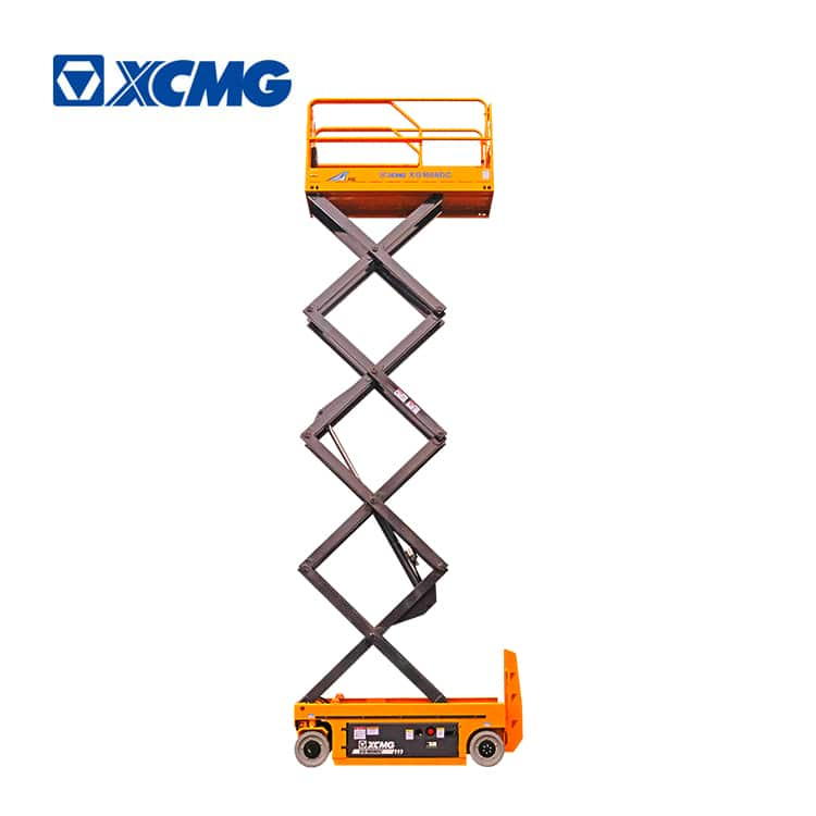 XCMG 10m Electric Self Propelled Scissor Lift XG1008DC For Sale