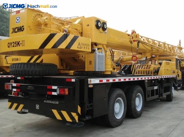 QY25K-II crane price | XCMG QY25K-II 25 ton construction crane for sale