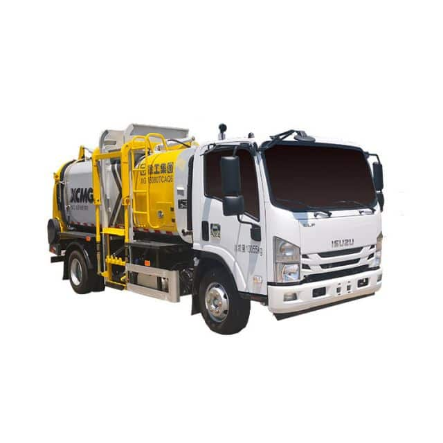 XCMG 10 cbm Kitchen Waste Collection Truck For Sale