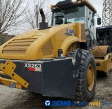 XCMG Used Road Roller Compactor XS263 For Sale
