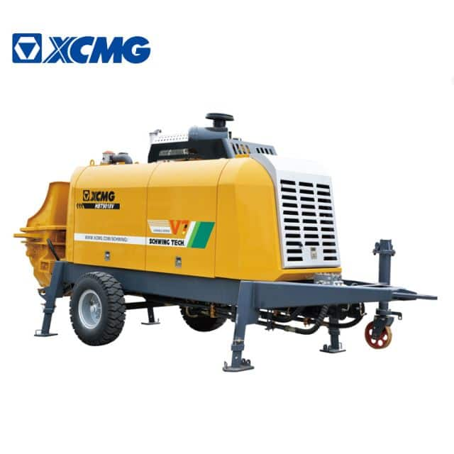 XCMG Manufacturer HBT9018V Concrete Mixer Pump Trailer for Sale
