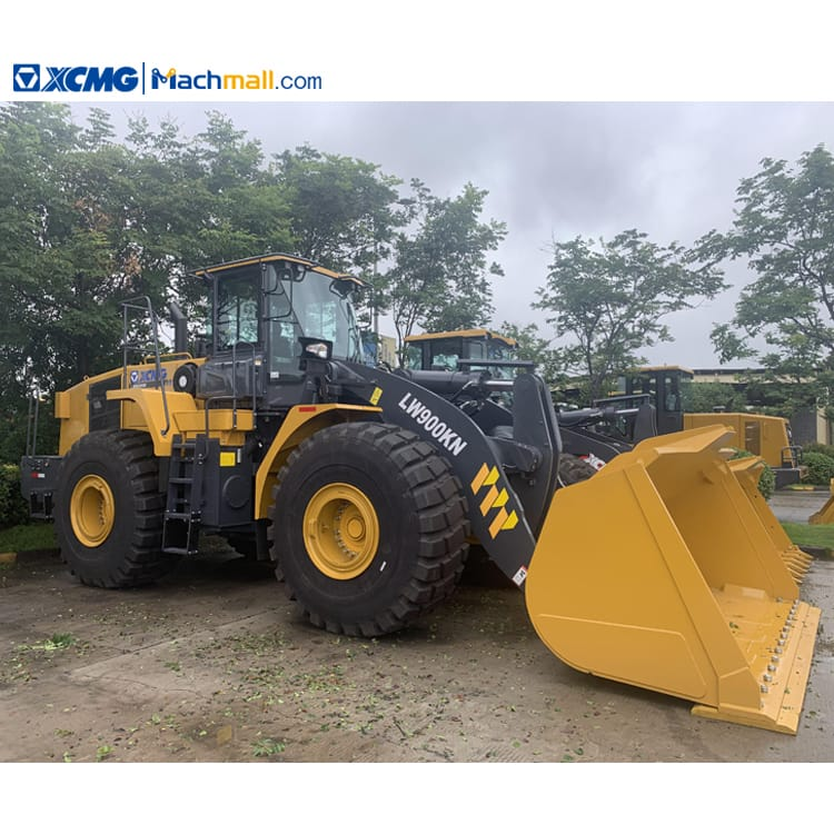 LW900KN wheel loader for sale   XCMG 5m3 250kw 9 ton wheel loader price