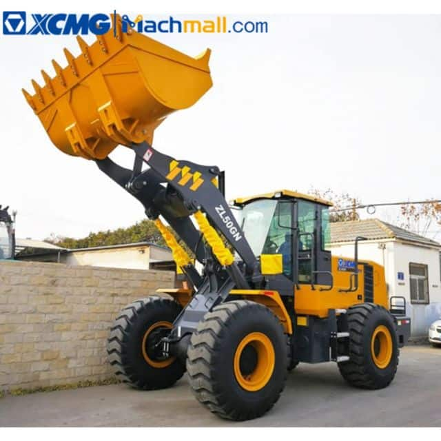 XCMG ZL50GN 5 ton wheel loader pilot control with fops&rops cab on sale