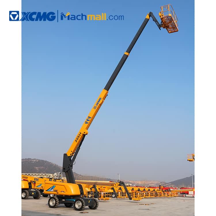 24m XCMG aerial lifting platform XGS24 with PDF price