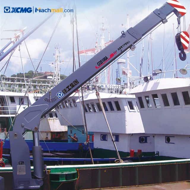 XCMG 2 ton small hydraulic marine crane for sale