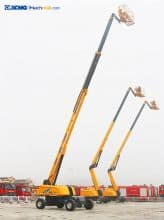 XCMG 34m hydraulic lifting platform XGS34 with PDF catalog for sale