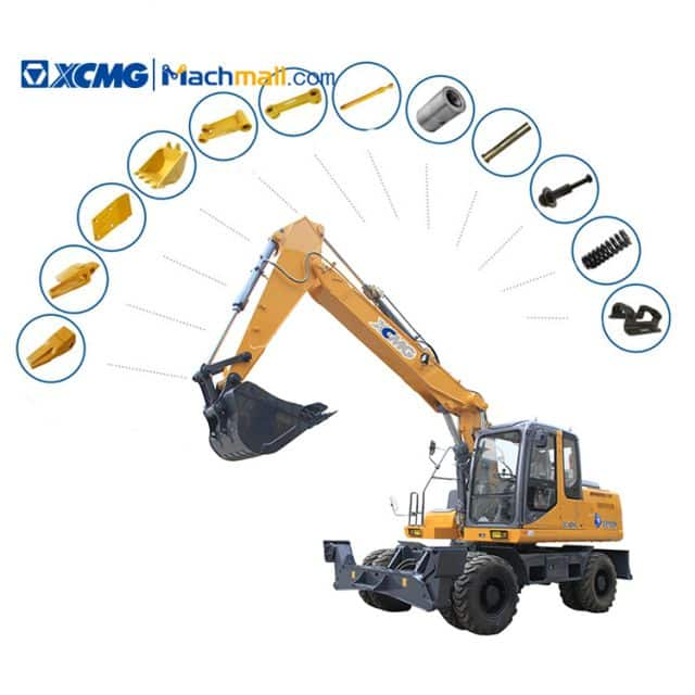 Spare Parts List of XCMG XE135B Wheel Excavator