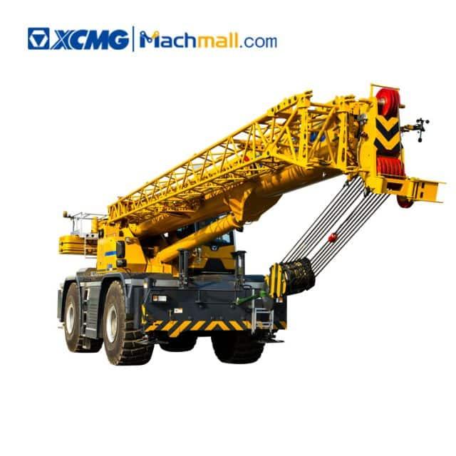 XCMG official 70 ton mobile rough terrain crane RT70E price