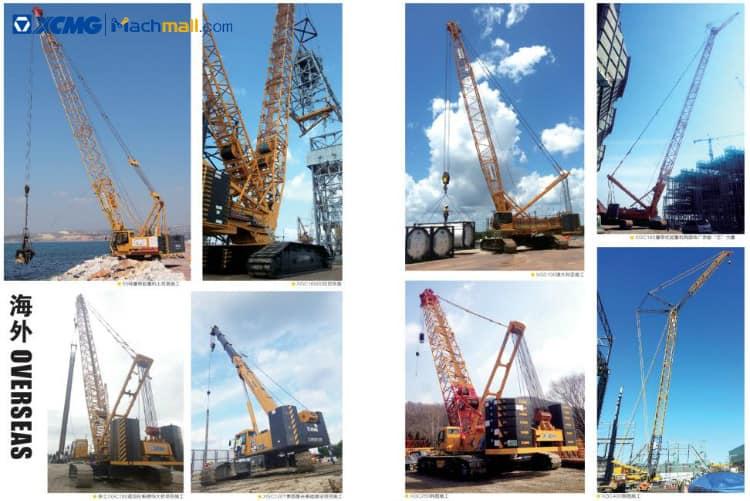 XCMG 25 ton small telescopic crawler crane XGC25T price