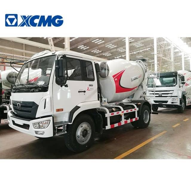 XCMG Professional Design Self Loading Concrete Mixer Truck XSC4313 Concrete Truck Mixer for Sale
