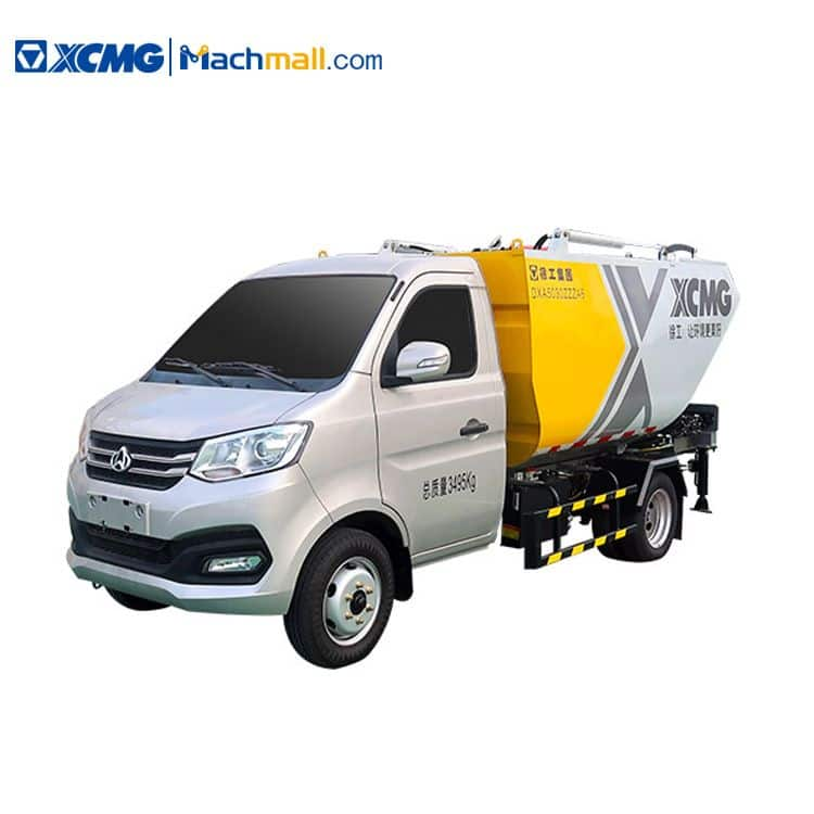 XCMG 3 ton compactor dump garbage truck for sale
