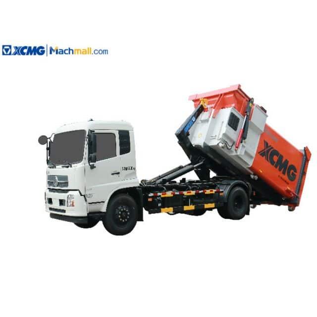 XCMG 10 cbm XZJ5120ZXXD5 Garbaged Truck With Crane For Sale