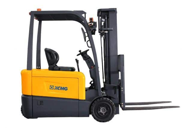 XCMG 3 ton 4-wheel Electric Forklift FB30-AZ1 chinese forklift for sale