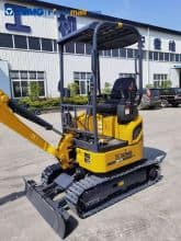 XCMG 2 ton small household excavator XE17U price