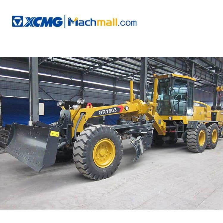 China 180 HP XCMG motor grader GR1803 with product catalog for sale