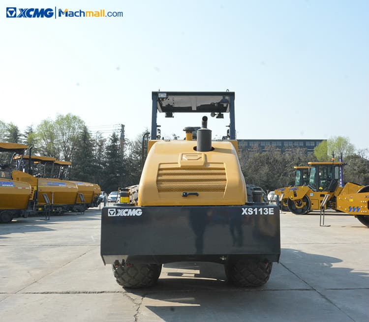 China XCMG cheap 10 ton vibratory road roller compactor XS113E price
