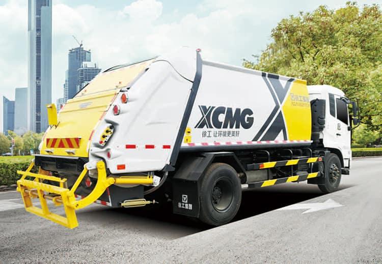 XCMG XZJ5070ZYSQ5 3 ton small garbage compactor machine