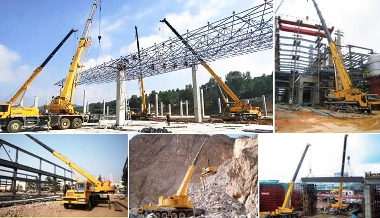 XCMG QY25K-II 25t small mobile lifting truck crane for sale