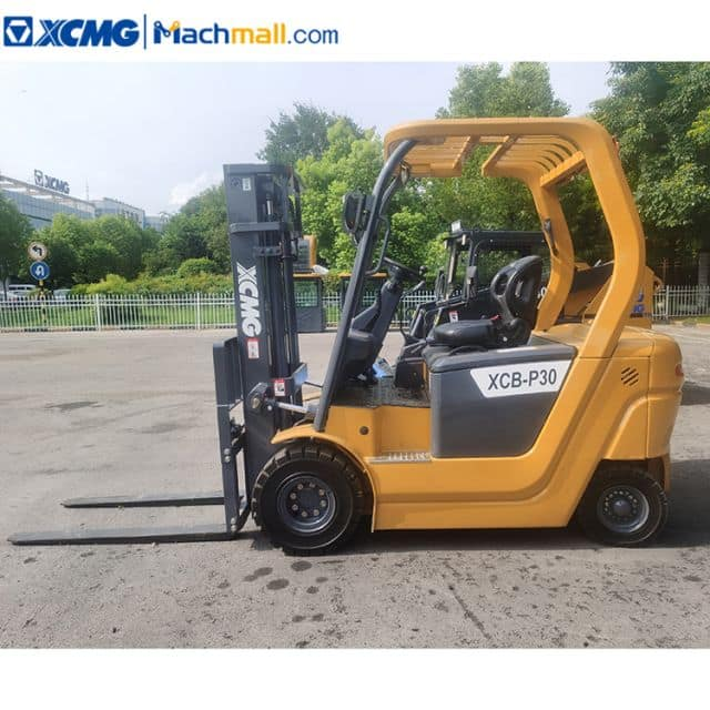 XCMG electric forklift 3 ton counterbalance XCB-P30 with lithium battery for sale